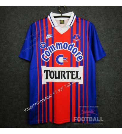 Футболка ПСЖ домашняя ретро 93/94