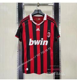 Футболка Милан домашняя ретро 2009