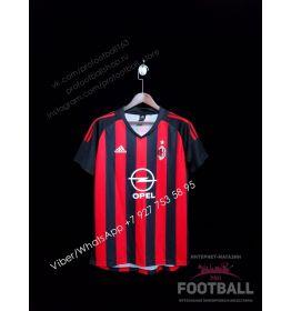 Футболка Милан домашняя ретро 2002/2003