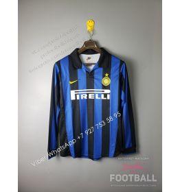 Футболка Интер с длинным рукавом ретро 1998