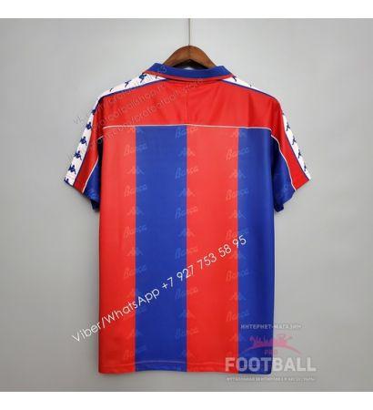 Футболка Барселона домашняя ретро 92/95