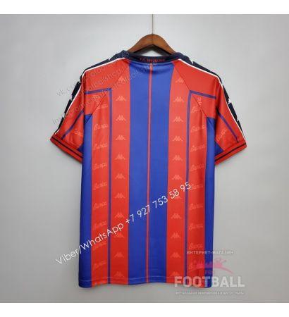 Футболка Барселона домашняя ретро 97/98
