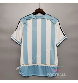 Футболка сборной Аргентины домашняя ретро 2006