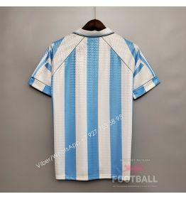 Футболка сборной Аргентины домашняя ретро 96/97