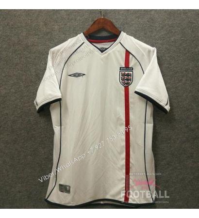 Футболка сборной Англии ретро 2002