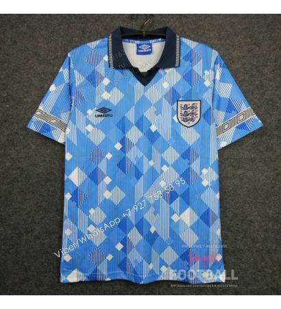 Футболка сборной Англии ретро 1990