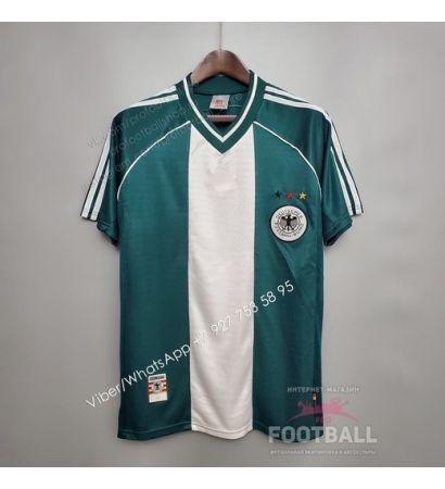 Футболка сборной Германии гостевая ретро 1998 (вариант 1)