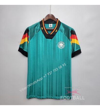 Футболка сборной Германии гостевая ретро 1992
