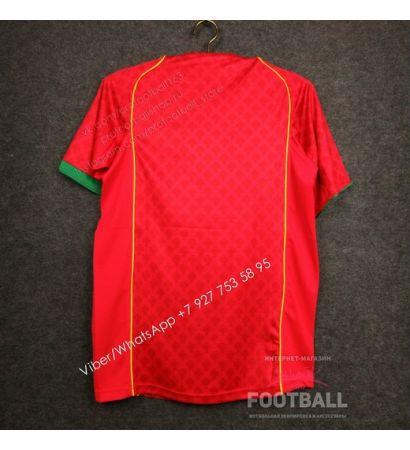 Футболка сборной Португалии домашняя ретро 2004