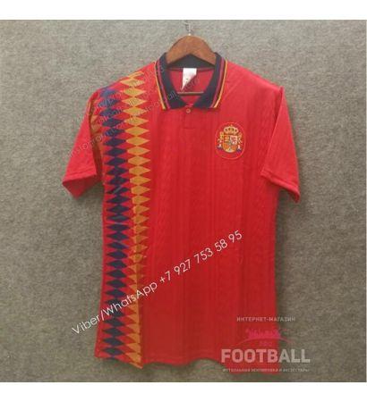 Футболка сборной Испании ретро 1994