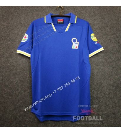 Футболка сборной Италии домашняя ретро 1996