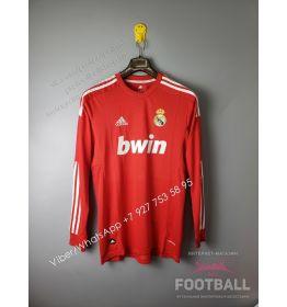 Футболка Реал Мадрид с длинным рукавом ретро 2012 (вариант 2)
