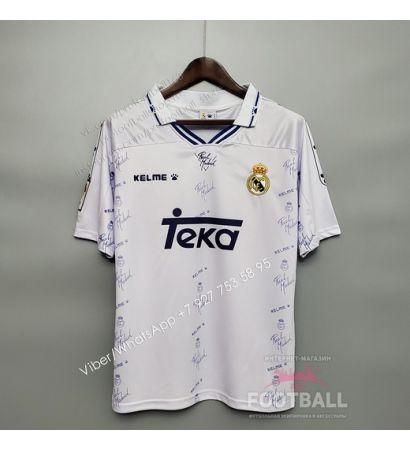 Футболка Реал Мадрид домашняя ретро 94/96