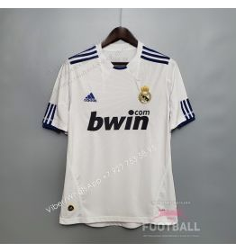 Футболка Реал Мадрид домашняя ретро 10/11