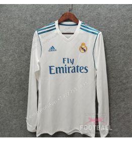Футболка Реал Мадрид с длинным рукавом ретро 17/18