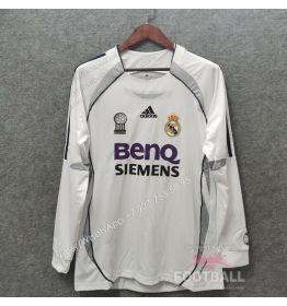 Футболка Реал Мадрид с длинным рукавом ретро 06/07