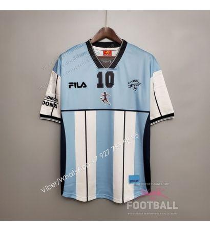 Футболка сборной Аргентины ретро 2001