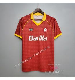 Футболка Рома домашняя ретро 90/91