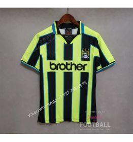 Футболка Манчестер Сити гостевая ретро 98/99