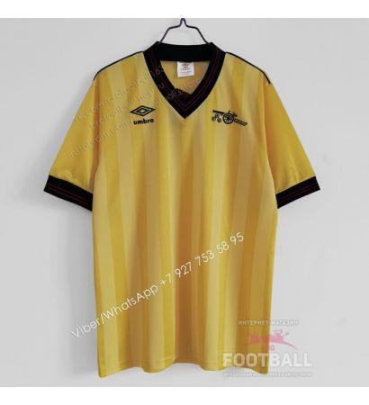 Футболка Арсенал гостевая ретро 1984/86
