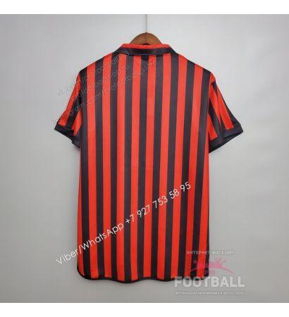 Футболка Милан домашняя ретро 1999/2000