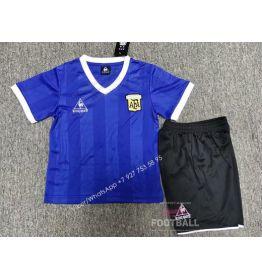 Детская форма сборной Аргентины ретро 1986