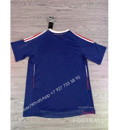 Футболка сборной Франции домашняя ретро 2010