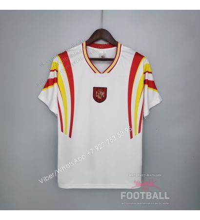 Футболка сборной Испании гостевая ретро 1996