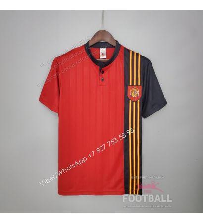 Футболка сборной Испании домашняя ретро 1996
