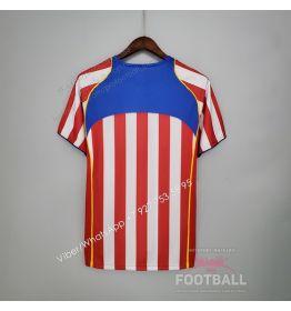 Футболка Атлетико Мадрид домашняя ретро 04/05