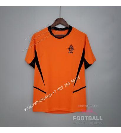 Футболка сборной Голландии домашняя ретро 2002