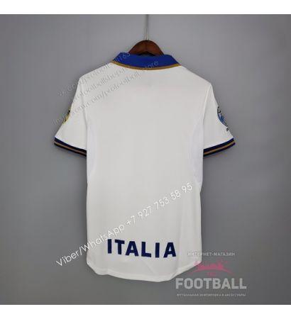 Футболка сборной Италии гостевая ретро 1996