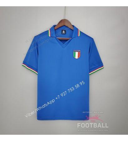 Футболка сборной Италии домашняя ретро 1982