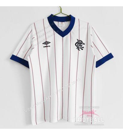 Футболка Glasgow Rangers гостевая ретро 82/83