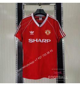 Футболка Манчестер Юнайтед домашняя ретро 1988