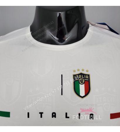 Футболка сборной Италии гостевая 21/22 (игровая версия)