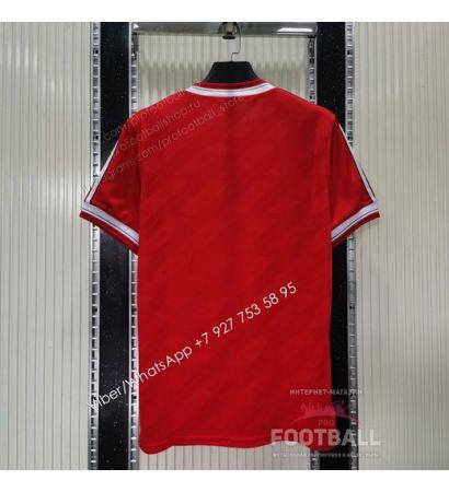 Футболка Манчестер Юнайтед домашняя ретро 1986