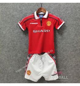 Детская ретро форма Манчестер Юнайтед 98/99