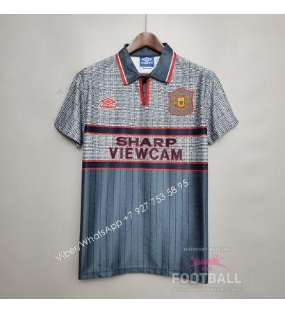 Футболка Манчестер Юнайтед гостевая ретро 95/96
