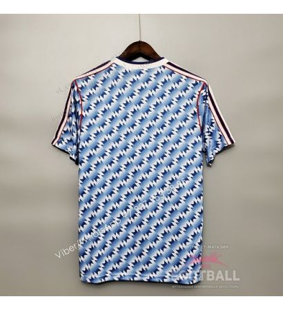 Футболка Манчестер Юнайтед гостевая ретро 90/92