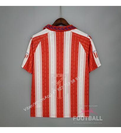 Футболка Атлетико Мадрид домашняя ретро 95/96