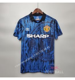 Футболка Манчестер Юнайтед гостевая ретро 92/93