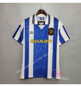 Футболка Манчестер Юнайтед гостевая ретро 94/96