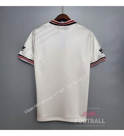 Футболка Манчестер Юнайтед ретро 1985 (вариант 2)