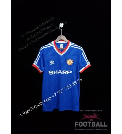 Футболка Манчестер Юнайтед ретро 86/88