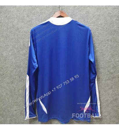 Футболка Челси с длинным рукавом домашняя ретро 2011/12