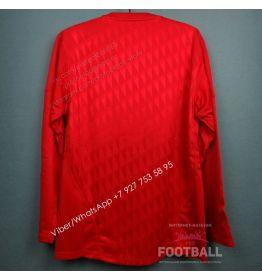 Футболка Ливерпуль с длинным рукавом домашняя ретро 2010/11