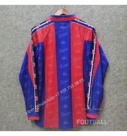 Футболка Барселона с длинным рукавом ретро 96/97