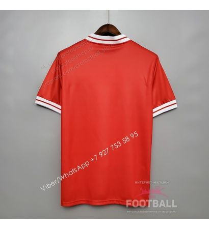 Футболка Ливерпуль домашняя ретро 1984