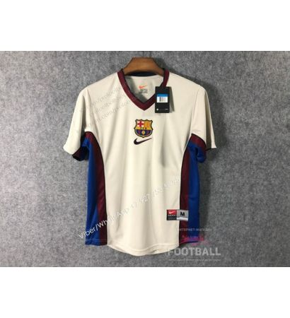 Футболка Барселона гостевая ретро 98/99